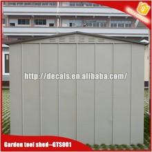 prefab steel garden shed