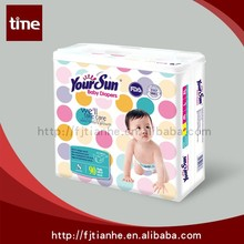 guangzhou diaper manufacturer in China export quality baby diapers
