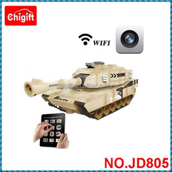 JD805 WIFI RC Tank Car With Camera&Real-time Vedio Transmission
