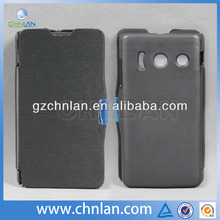 High quality leather cell phone cover for Huawei Ascend Y300