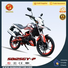 Chinese 125CC Engine Sport Racing Motorcycle Bikes Good Quality Motorcycles SD125GY-P