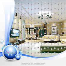 2015 Hot Fashion Crystal Glass Beads Curtain for room divider door curtain