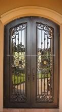 Últimos diseños de puertas de hierro de seguridad frontal