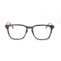 Lady Fancy Wine Red Round Metal Frame Reading optical Glasses