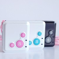 Small mini size personal gps tracker RF-V16, support tracking way :SMS,internet,Android APP, Apple App, we chat