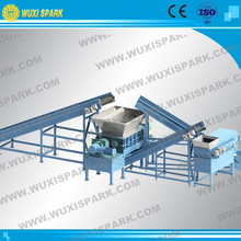 Best Selling Used Tire Shredder for Car with Diameter 400-800mm