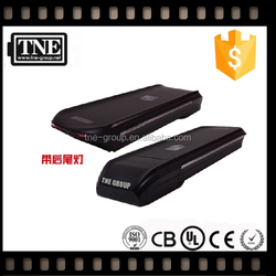 2 year warranty Japan engineer OEM factory 36v/48v rear rack lithium ion battery pack and battery charger