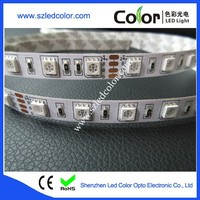 5050 flexible waterproof rgb led strip 24v ip65/67/68