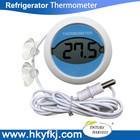 Termômetro magnético frigorifico termômetro com 2 peças disco de sucção