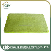 Alibaba 2015 new fashion Microfiber long pile shaggy carpet for Bedroom