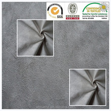 fake leather fabric, polyester suede fabric vinyl wrap