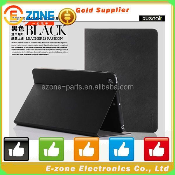 for iPad Air 360 Degree Rotatable Leather Case, Hot Selling!