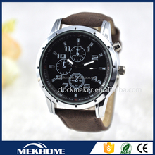 wholesale leather luxury watch brand , mechanical man watch luxury