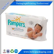 Custom Printed Disposable Baby Diaper Bag