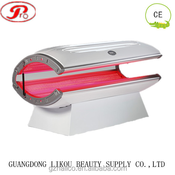 Top sell 24pcs uv lamps collagen tanning bed with red light therapy