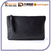 promotional Plain pu leather cosmetic bag