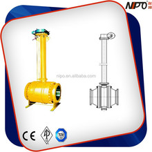Worm Gear Operated Extended Stem Full Welded Ball Valve