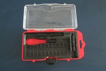 Tool Box Removable tray equipped with molded handle Removable tray equipped with molded handle Tool Box