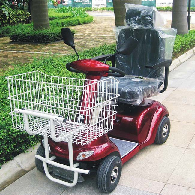 Ce approved mini shopping cart eelectric scooter dl24500 for Motorized carts for seniors