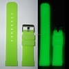 Glow in the Dark for Apple Watch Band,custom colors silicone for apple watch band,soft sport version for apple watch band
