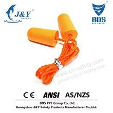 tv ears hearing, foam ear plug, bullet earplug with SNR 34db
