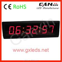 Precio barato para juego de ajedrez de cuenta atrás led game clock con alarma
