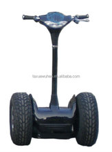 Hot sale style four air wheels electrical stand up transportion machine golf ball pick up machine