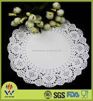 Multi size white lace paper dolly