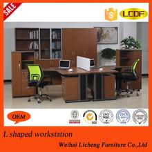Metal frame wooden desk/executive desk office use