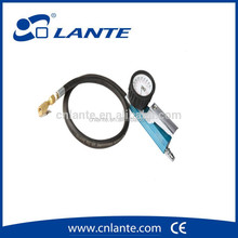 6 functions tyre inflator with mechnical gauge