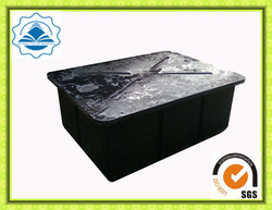 New Design UV protected floating dock plastic pontoon cubes