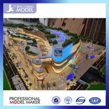 3D architectural plastic scale models for China landmark chengdu