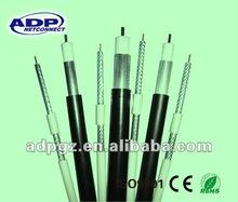 Cable coaxial RG6 cobre desnudo jalea lleno