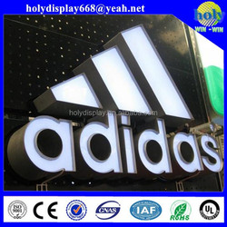 front-lit company channel letter and logo signage for advertising,acrylic led light up letter sign