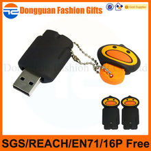 OEM SOFT PVC Cover cheap 1gb usb pen drive for promotion use with company logo