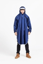 cheap waterproof hooded polyester rain coat /adults rain coat suit/rain jacket pants9038