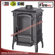 Fireway most fashion 12kw heat output cast iron material wood stove