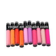 Various color lipgloss hot sell lip makeup organic lipstick