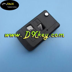 Competitive price for 2 buttons car key toyota folding key shell toyota corolla key