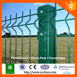 Home garden metal clear panel fence panels