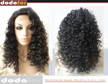 Hot sale great long afro kinky u part wig