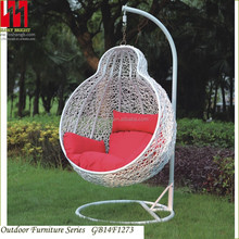 Round rattan wicker swing chair/ egg chair/ hanging swing
