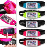 Outdoor Waterproof Sports Waist Belt Wallet Bag for iPhone 6 / Plus