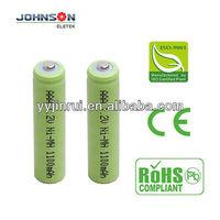 nimh 1.2v aaa 1100mAh rechargeable hot sale battery