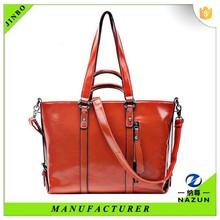 Russia imported long shoulder handbag deep yellow tote bag for women