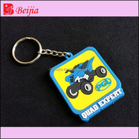 Arcade games car race game custom silicone rubber key chains pvc keychain for video games boy