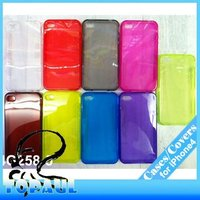 Newest design TPU casing for iphone 4 mobile phone accessories