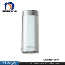 New arrival battery heatvape defender e cigarette mod heatvape defender/defender 36w