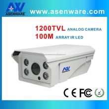 1200TVL Ip66 Waterproof Bullet Housing IR 100M Analog CCTV Camera