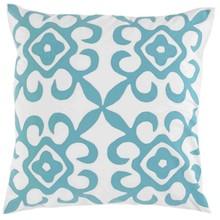 Elegant Silk Sofa Decorative Design Backrest Throw Pillow with Symmetrical Pattern